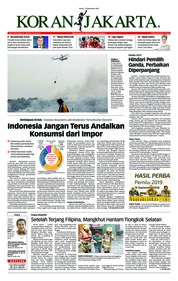 Cover Koran Jakarta 17 September 2018