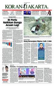 Cover Koran Jakarta 26 September 2018