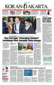 Cover Koran Jakarta 11 Oktober 2018