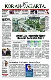 Cover Koran Jakarta 23 Oktober 2018