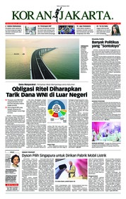 Cover Koran Jakarta 24 Oktober 2018