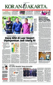 Cover Koran Jakarta 19 November 2018