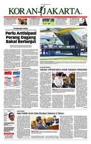 Cover Koran Jakarta 07 Desember 2018