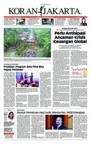 Cover Koran Jakarta 12 Desember 2018