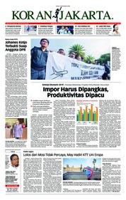 Cover Koran Jakarta 14 Desember 2018