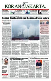 Cover Koran Jakarta 19 Desember 2018