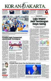 Cover Koran Jakarta 09 Januari 2019