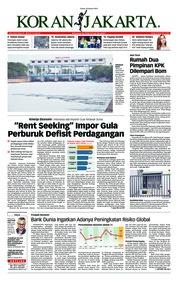 Cover Koran Jakarta 10 Januari 2019