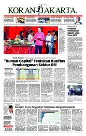 Cover Koran Jakarta 11 Januari 2019