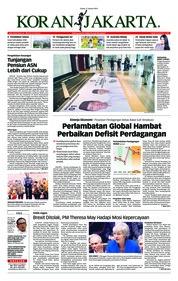 Cover Koran Jakarta 17 Januari 2019