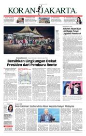 Cover Koran Jakarta 18 Januari 2019