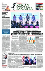Cover Koran Jakarta 16 Februari 2019