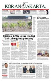 Cover Koran Jakarta 20 Februari 2019