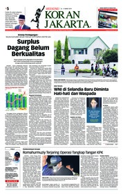 Cover Koran Jakarta 16 Maret 2019