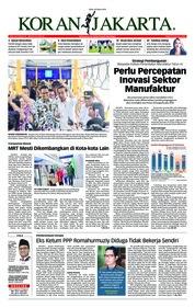Cover Koran Jakarta 20 Maret 2019