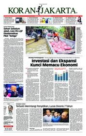 Cover Koran Jakarta 21 Maret 2019