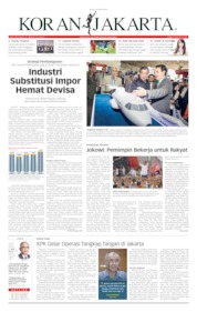 Cover Koran Jakarta 28 Maret 2019