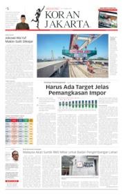 Cover Koran Jakarta 30 Maret 2019