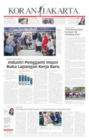 Cover Koran Jakarta 01 April 2019