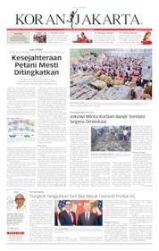 Cover Koran Jakarta 02 April 2019
