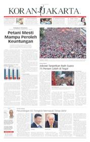 Cover Koran Jakarta 05 April 2019