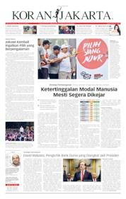 Cover Koran Jakarta 08 April 2019