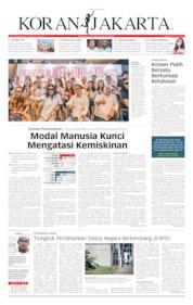 Cover Koran Jakarta 09 April 2019