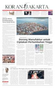 Cover Koran Jakarta 10 April 2019
