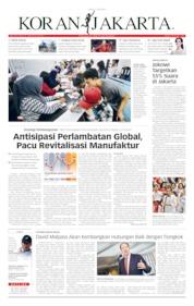 Cover Koran Jakarta 11 April 2019