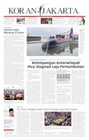 Cover Koran Jakarta 12 April 2019