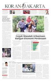 Koran Jakarta Cover 16 April 2019