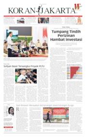Cover Koran Jakarta 24 April 2019