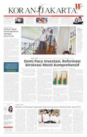 Cover Koran Jakarta 25 April 2019