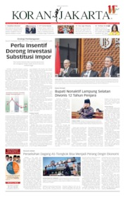 Koran Jakarta Cover 26 April 2019