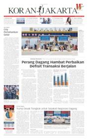 Koran Jakarta Cover 13 May 2019