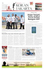 Cover Koran Jakarta 18 Mei 2019