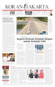Cover Koran Jakarta 20 Mei 2019