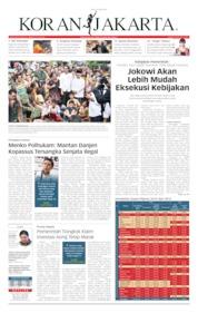 Cover Koran Jakarta 22 Mei 2019