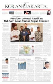 Cover Koran Jakarta 23 Mei 2019