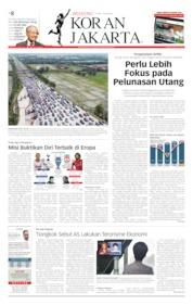 Cover Koran Jakarta 31 Mei 2019