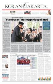 Cover Koran Jakarta 03 Juni 2019