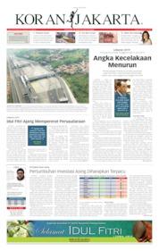 Cover Koran Jakarta 04 Juni 2019