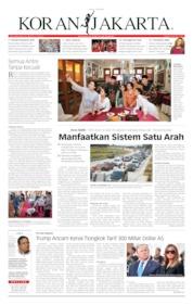 Cover Koran Jakarta 07 Juni 2019