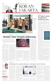 Cover Koran Jakarta 08 Juni 2019