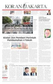 Koran Jakarta Cover 12 June 2019