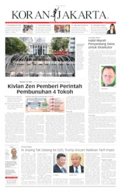 Cover Koran Jakarta 12 Juni 2019