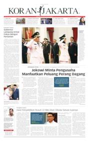 Cover Koran Jakarta 13 Juni 2019