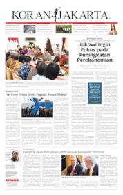 Cover Koran Jakarta 14 Juni 2019