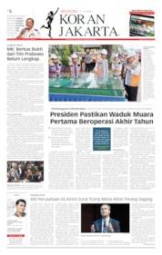 Koran Jakarta Cover 15 June 2019