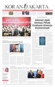 Koran Jakarta Cover 17 June 2019